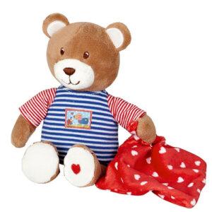 λούτρινο αρκουδάκι, λούτρινο μουσικό αρκουδάκι, μουσικά παιχνίδια, βρεφικά, μουσικό αρκουδάκι spiegelburg, δώρα για παιδιά