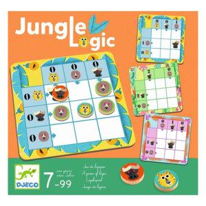 Djeco Παιχνίδι λογικής 'Τα ζώα της ζούγκλας' 08450