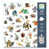 Djeco stickers 160 - ιπποτες
