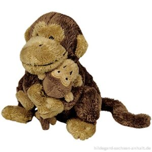 Λουτρινη μαϊμουδιτσα με το μωρο της απο την εταιρεια Spiegelburg