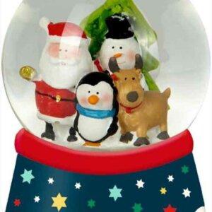 Χριστουγεννιατικη χιονομπαλα με φως Spiegelburg