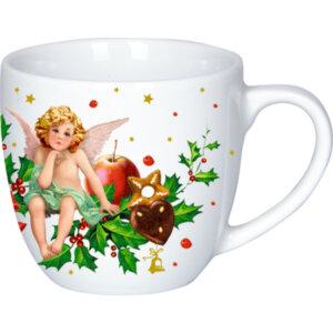 Κουπα πορσελανης χριστουγεννιατικη -
