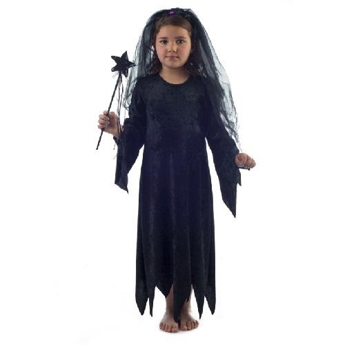 57765 1Αποκριατικο φορεμα μαγισσας βελουτε