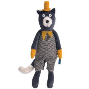 Alphonse' ο λούτρινος γάτος Les Moustaches Moulin Roty 666020