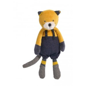 Lulu η Λούτρινη γατούλα 'Les Moustaches' Moulin Roty 666021