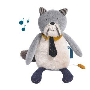'Fernand' ο Μουσικός Γάτος 'Les Moustaches' Moulin Roty 666042