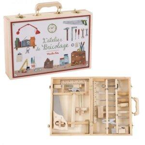 Ξύλινο Σετ Εργαλειών (μεγάλο) 'L'atelier de Bricolage' Moulin Roty 710412