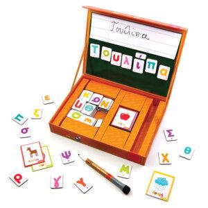 Svoora Μαγνητικό Σετ 'Παίζω με τις Λέξεις και μαθαίνω τα Γράμματα' Κωδικός: 03021