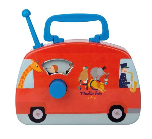 Μουσικό Λεωφορείο 'Moulin Roty' Les jouets metal Κωδ. 720363
