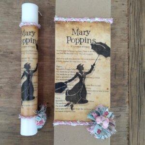 Πασχαλίνη Λαμπάδα 'Mary Poppins' Κωδ. 3796-56