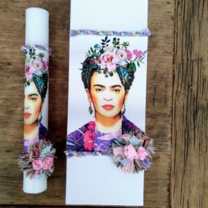 Πασχαλινή Λαμπάδα 'Frida Kahlo' Κωδ. 3796-43