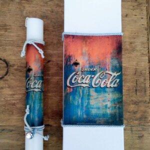 Πασχαλινή Λαμπάδα 'Coca-Cola' Κωδ. 3796-34