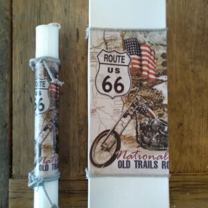 Πασχαλινή Λαμπάδα 'Route 66' Κωδ. 3796-64