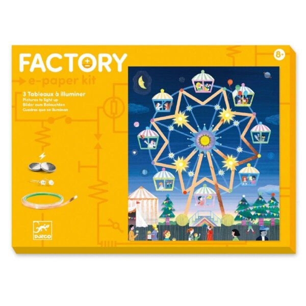 Djeco Κατασκευή Factory 'Λούνα Παρκ' Κωδικός: 09311