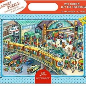 Παζλ - Σταθμός Τρένου - Spiegelburg Κωδ. 13244