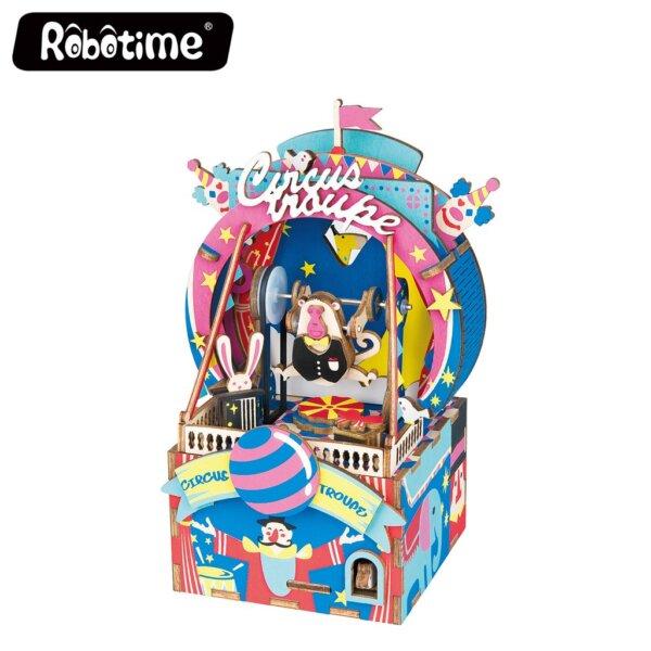 Robotime Μουσικό Κουτί Amusement Park Κωδ. AMD41