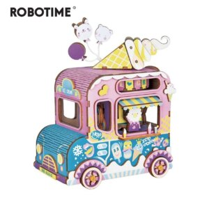 Robotime DIY Music Box Moving Flavor Κωδ. AMD61