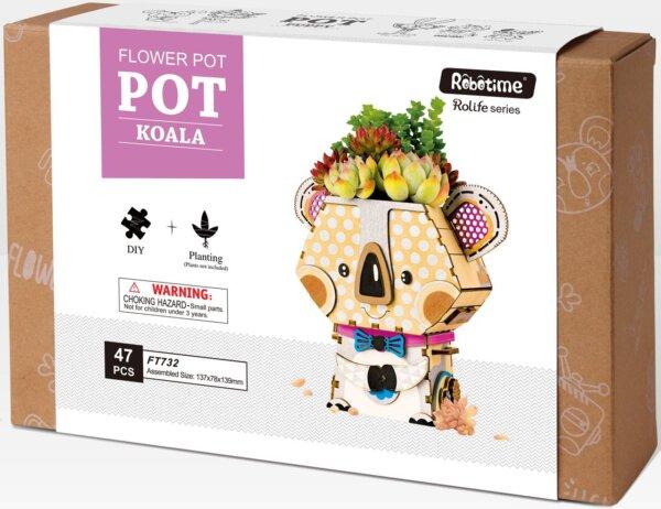 Robotime DIY Flower Pot Koala Κωδ. FT732