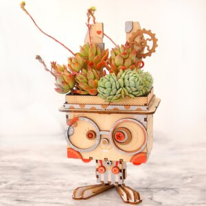 Robotime DIY Flower Pot Bunny Κωδ. FT741
