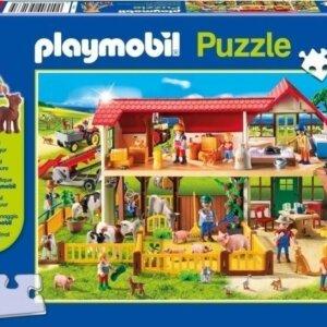 Puzzle Schmidt - Playmobil Φάρμα με Φιγούρα - 100 τμχ. Κωδ. 56163