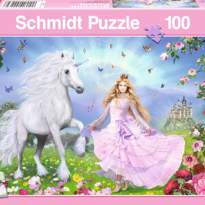 Puzzle Schmidt - Η Πριγκίπισσα των Μονόκερων - 100 τμχ. Κωδ. 55565
