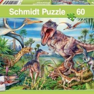 Puzzle Schmidt Δεινόσαυροι 60 τμχ. 56193