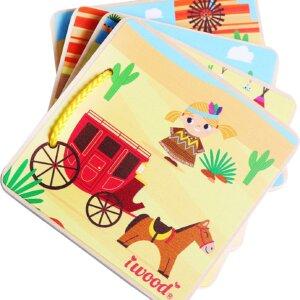 Western Cowboy - Wooden Storybook iwood Κωδ. W11001