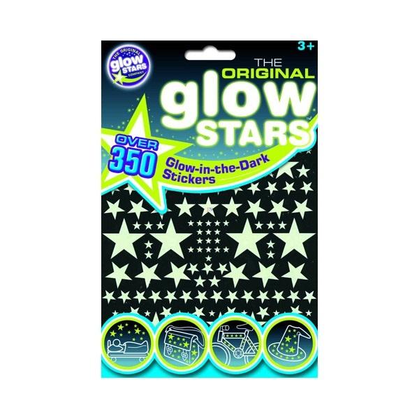 The Original Glowstars 350+ Glow-in-The-Dark Stars B8000