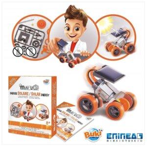 Ηλιακό αυτοκίνητο Κατασκευή -Mini Lab Solar Energy Buki 3005