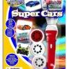 Brainstorm Φακός – Προτζέκτορας 'Super Cars' Κωδ. Ε2047