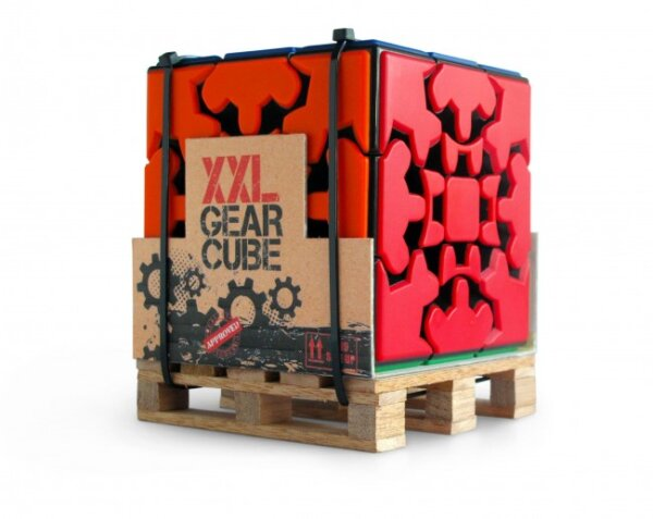 Γρίφος Meffert's Puzzle – XXL Gear Cube – Recent Toys RXL-43
