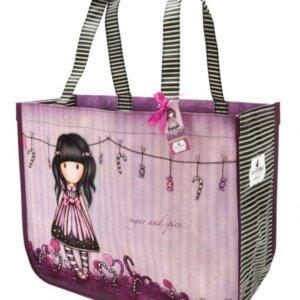 Gorjuss Woven Shopper Bag Sugar and Spice – 253GJ10