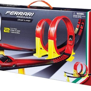 Bburago 1:43 Ferrari Race and Play Dual Loop 18/31216