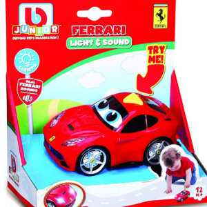ΑΥΤΟΚΙΝΗΤΟ BBURAGO JUNIOR FERRARI LIGHT & SOUND F12 BERLINETTA [16/81003]