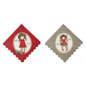 Santoro gorjuss Χαρτοπετσέτες 8τεμ - Ruby BR52391