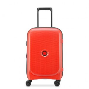 Delsey Βαλίτσα trolley καμπίνας expandable 55x35x25cm Belmont Plus Faded Red Κωδικός Προϊόντος: 386180434