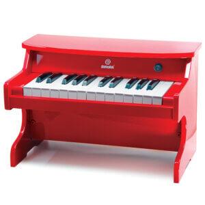 Πιάνο Ηλεκτρονικό ξύλινο κόκκινο 25 νότες Κωδικός: 57351
