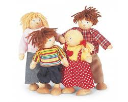Doll Family - Pin Toy - 06575