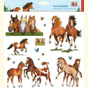Αυτοκόλλητα για Παράθυρο - Horse Friends - 'die Spiegelburg' Κωδ. 20399