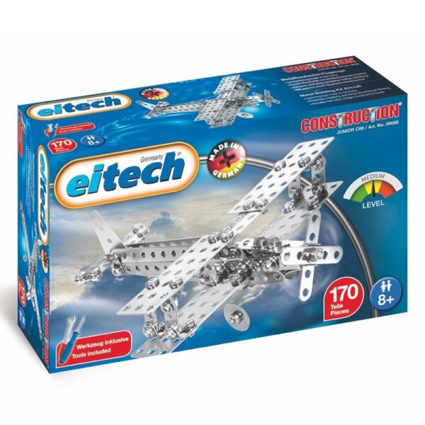 Eitech Μεταλλική κατασκευή 'Διπλάνο - αεροπλάνο προπέλας' Κωδικός: 00088