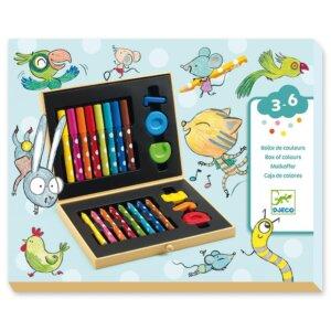 Djecο Σετ Ζωγραφικής για μικρά παιδιά +18 Μηνών Κωδικός: 09010