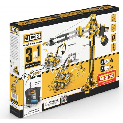 Engino JCB Construction Tall Crane Motor 45/0JCB40