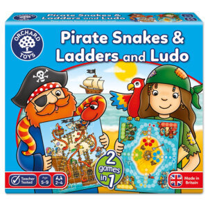 Orchard Toys Pirate Snakes and Ladders & Ludo Board Game Κωδ. ORCH040