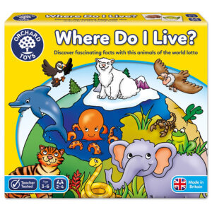 Orchard Toys Where Do I Live Game Κωδ. ORCH069