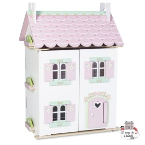 LE Toy Van - SWEETHEART COTTAGE (WITH FURNITURE) LTV H126