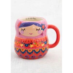 Natural Life - Κεραμική Κούπα Nesting Doll - NL-54785
