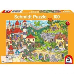 SCHMIDT PUZZLE - Παραμυθένιο Βασίλειο - Τμχ.100 S56311