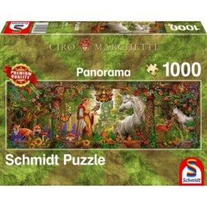 SCHMIDT PUZZLE - Μαγικό Δάσος - Τμχ.1000 S59614
