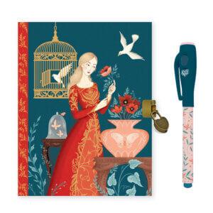 Djeco Ημερολόγιο με κλειδαριά και μαγικό μαρκαδόρο 'Lisa' Κωδικός: 03615
