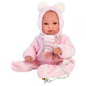 Llorens Baby doll crying in coverall 63634 36 εκ.